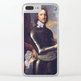 Oliver Cromwell portrait Clear iPhone Case