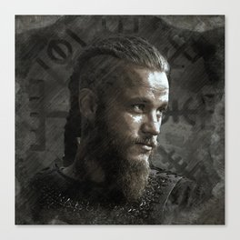Ragnar Lodbrok - Vikings Canvas Print