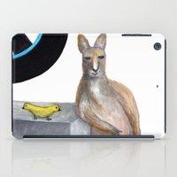 kangaroo iPad Cases featuring Kangaroo by Big AL