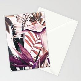 Magenta tropical Stationery Cards
