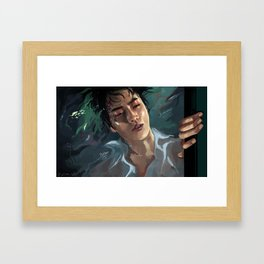 aquarium | suho Framed Art Print