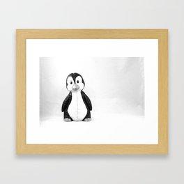 Quincy the Penguin Framed Art Print