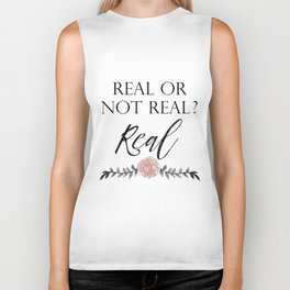 Real or not Real Biker Tank