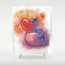 Little Thief of Hearts Shower Curtain