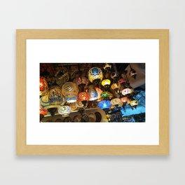 More Moroccan Lamps Framed Art Print