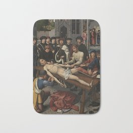 The Judgment of Cambyses Bath Mat