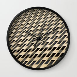 Federal Bureau of investigation - Architectural Pattern Wall Clock