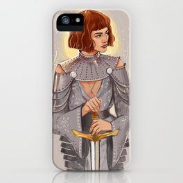 'Joan of Arc' / Zendaya iPhone Case
