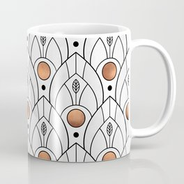 Art Deco Leaves / Version 2 Coffee Mug