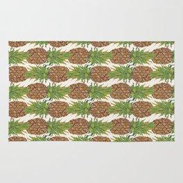 PINA COLADA: pineapple Rug