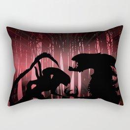 Forest Aliens Rectangular Pillow