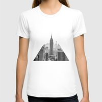 new york city T-shirts featuring New York City by Studio Laura Campanella