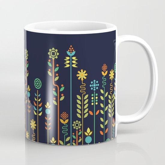 Overgrown flowers Mug