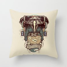 Transcendental Tourist Throw Pillow