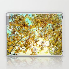 Autumn Umbrella Laptop & iPad Skin