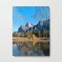 Valley View of Yosemite Metal Print