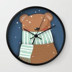 Dreaming Peacefully Wall Clock