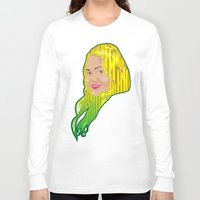 jamaica Long Sleeve T-shirts featuring Jamaica Girl by Theophilus Marks