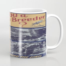 Vintage poster - Mosquito breeder Coffee Mug