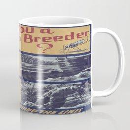 Vintage poster - Mosquito breeder Coffee Mug