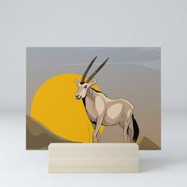 Oryx Mini Art Print