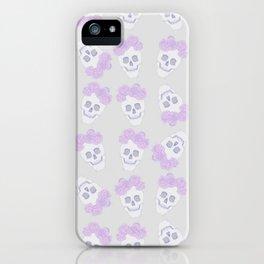 Crown of Peonies (pattern) iPhone Case