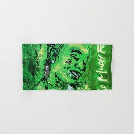 thug,so much fun,album art,cover,green,music,hiphop,rap,decor,wall art,gangsta,cool,dope,poster Hand & Bath Towel