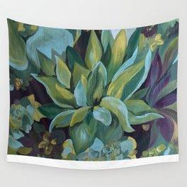 San Francisco Succulent Wall Wall Tapestry