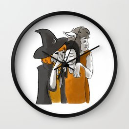 Monster BFFs Wall Clock