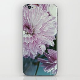 Pink and purple bouquet iPhone Skin