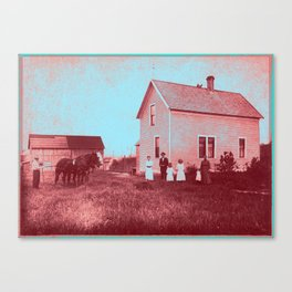 Early Settlers Canvas Print