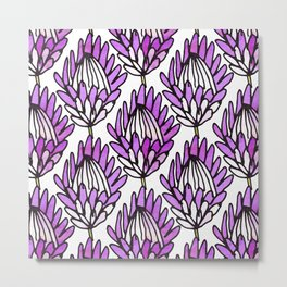 Protea Purple #homedecor Metal Print