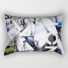LIBRA:TRUST NO ONE Rectangular Pillow