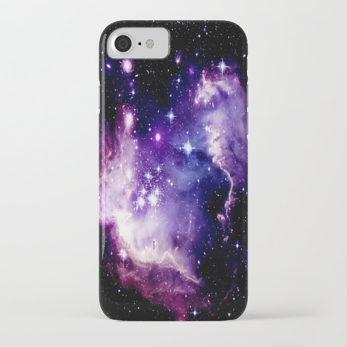 Galaxy .  Deep Purple & Blue iPhone Case