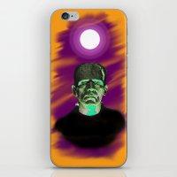 frankenstein iPhone & iPod Skins featuring Frankenstein  by JT Digital Art