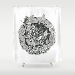 Pangolin's Dream Shower Curtain