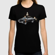 Metallicar and Friends MEDIUM Womens Fitted Tee Black