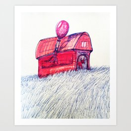 Stable Art Print