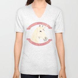 Unicorns Against the Patriarchy Unisex V-Neck