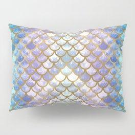 Pretty Mermaid Scales Pillow Sham