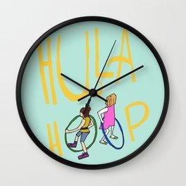 Hula Hoop Wall Clock