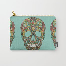 Ethno skull Carry-All Pouch