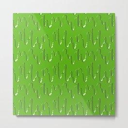 Come on and Slime! (Green) Metal Print