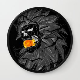 Death Crew Black Edition - Goku SS3 Wall Clock