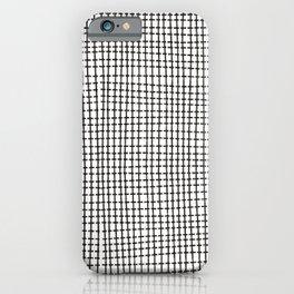 Grid lines 2 iPhone Case