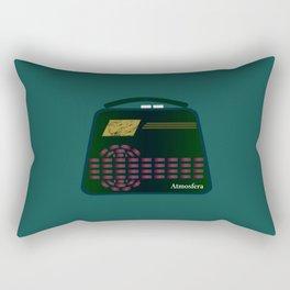Tiny Radio Rectangular Pillow