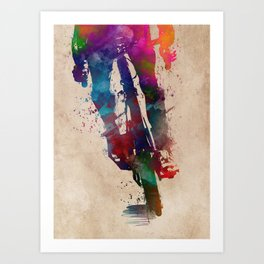 cycling #cycling #sport #bike Art Print