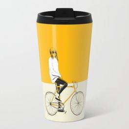 The Yellow Bike Travel Mug