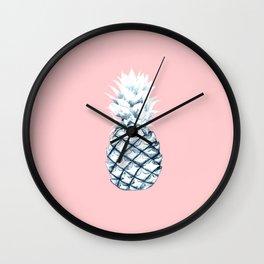 Ice Ice Pineapple Wall Clock