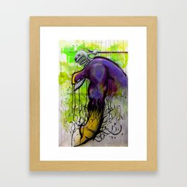 Tribute to Maxxx by Dennis Quijano Framed Art Print